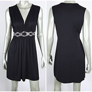 White House Black Market Rhinestone Dress Small